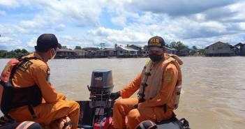 Kapal Pemancing Tenggelam di Sungai Mahakam, 1 Orang Masih Dalam Pencarian