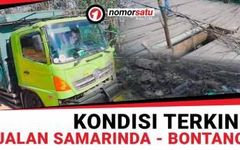 Begini Kondisi Jalan Samarinda-Bontang yang Kerap Dikeluhkan Itu