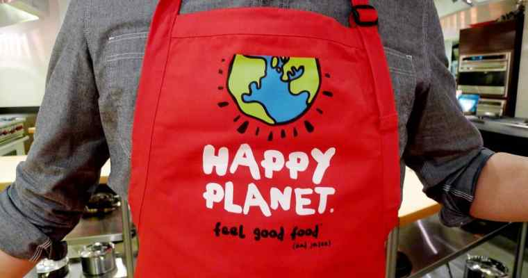 Happy Planet Soup Love at The Dirty Apron Cooking School (Gastown)