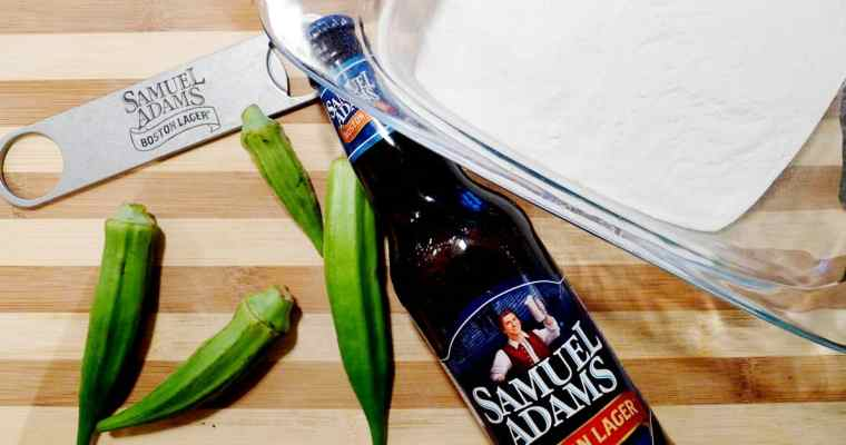 Samuel Adams Beer Batter Tempura Okra Recipe