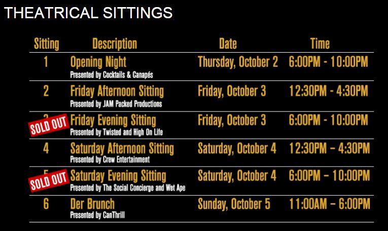 harvest haus oktoberfest Event table