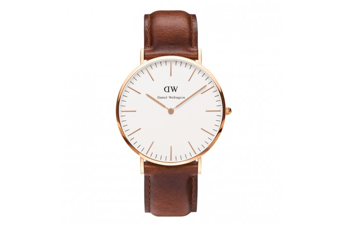Daniel wellington watch nomss discount code st sndrews leather watch rose gold