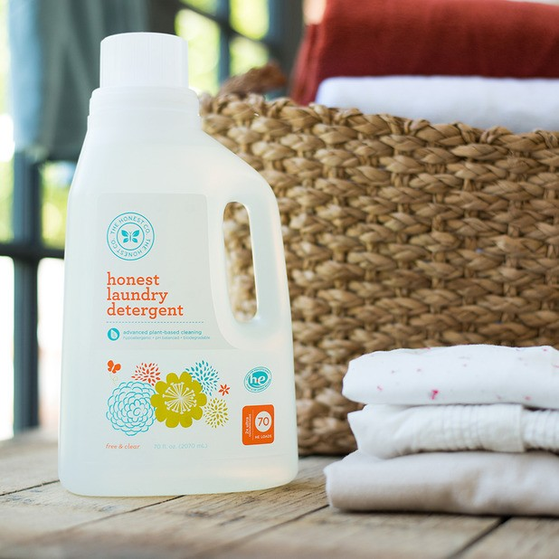 Honest Co laundry detergent  the honest company review
