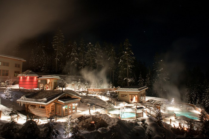 Scandanaive Spa Whistler steam