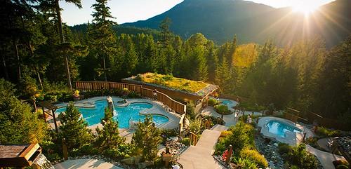 Scandinave Spa Whistler BC   Luxury Resort Spa
