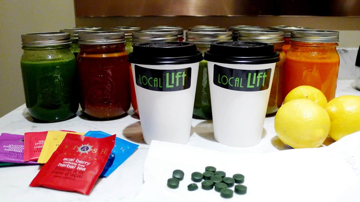 Local lift juice bar north vancouver juice cleanse for Bar food vancouver