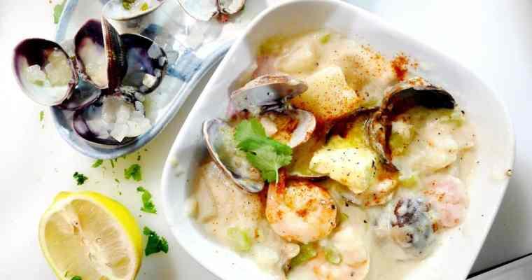 Best Seafood Clam Chowder Recipe | East Coast Maritimes