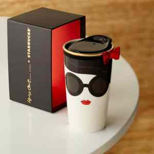 Starbucks Alice Olivia 2015 Doll Face Mug