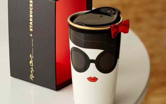 Starbucks Alice + Olivia 2015 Stace Face Mug | Stacey Bendet