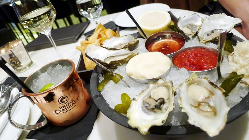Boulevard Kitchen & Oyster Bar Vancouver | Happy Hour Menu