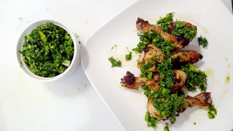 Ricardo Cuisine Baked Chicken with Chimichurri Sauce Recipe Instanomss Nomss 00002