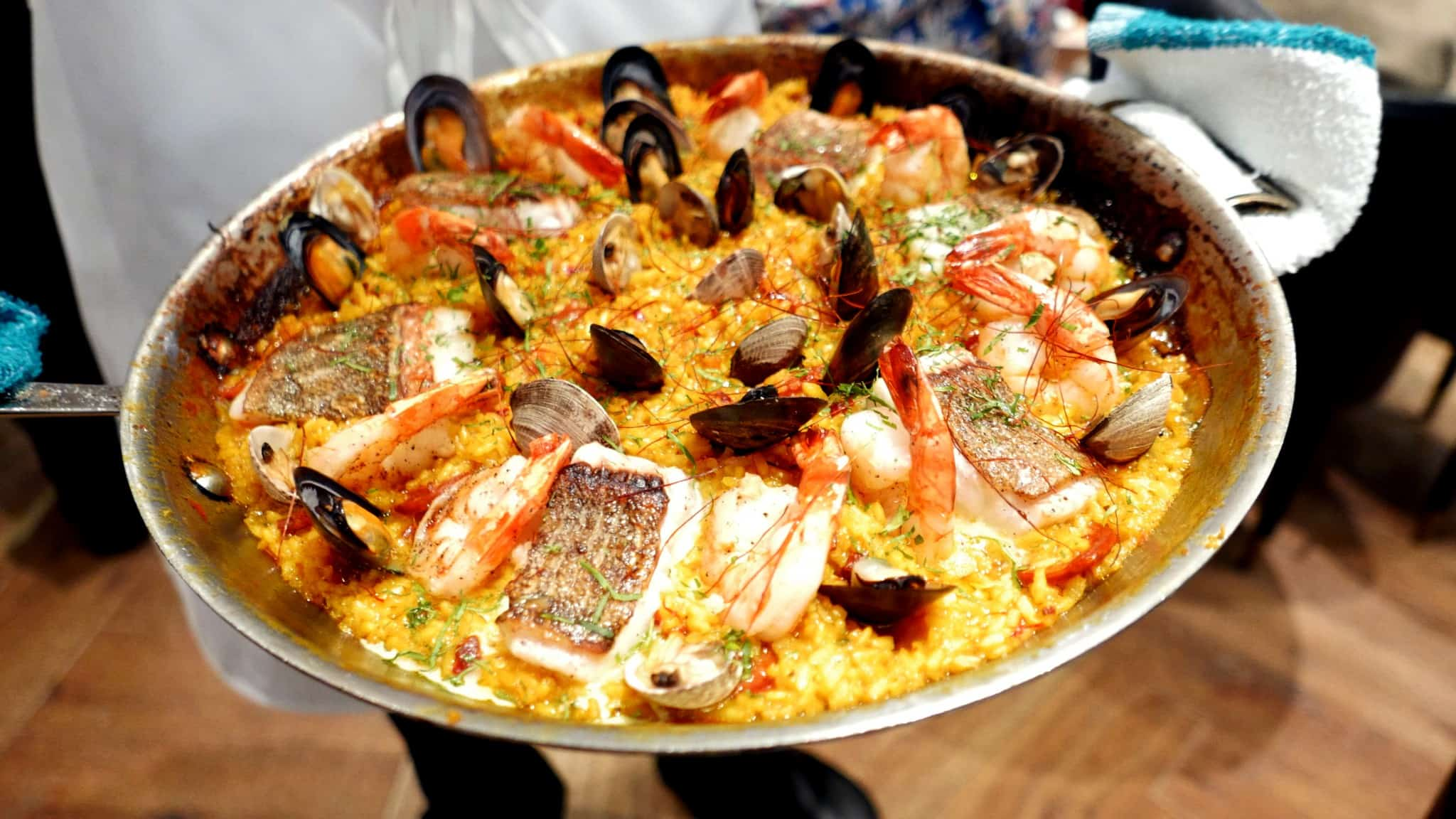 Sunday Supper Series Spanish Paella Day | Boulevard Kitchen & Oyster Bar Vancouver