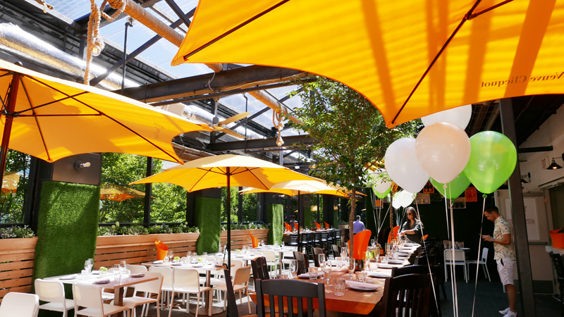 Roof Garten Vancouver veuve clicquot Roof Top Garden Instanomss Nomss Delicious Food Photography Healthy Travel Lifestyle Canada