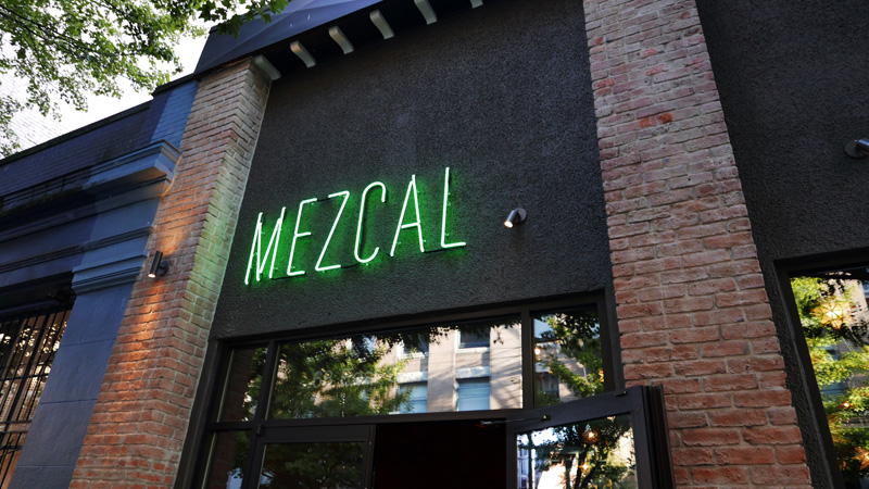La Mezcaleria Gastown Mezcal Bar Vancouver Traditional Mexican Food Instanomss Nomss Delicious Food Photography Healthy Travel Lifestyle Canada