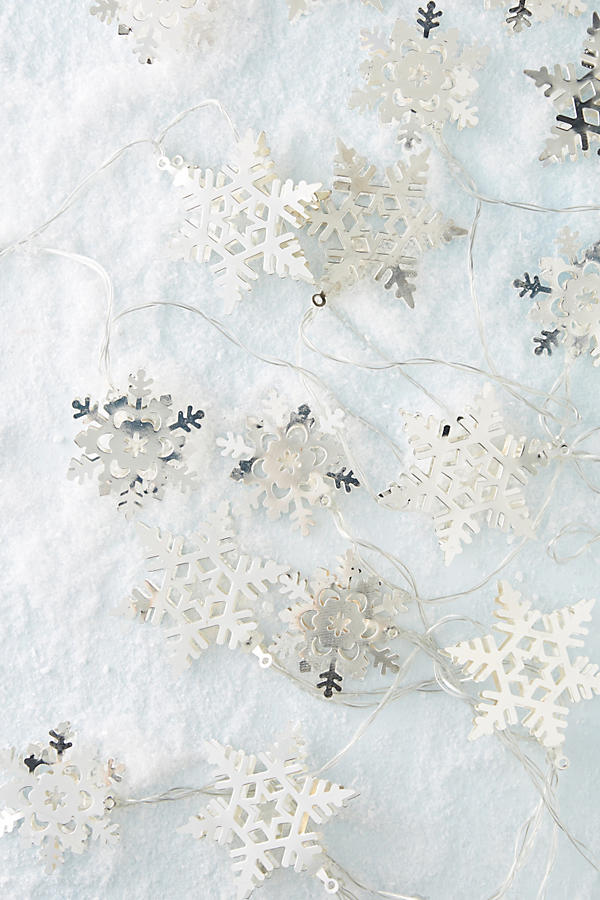 Snowflake String Lights Christmas Tree | Shopping for the Best Holiday Decor