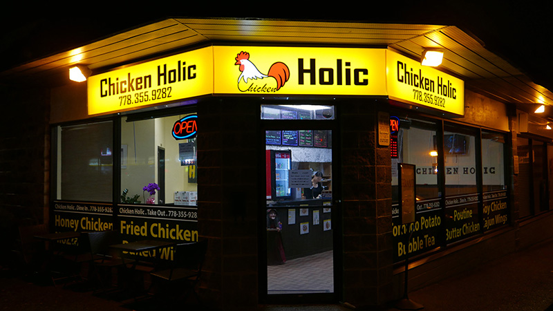 ChickenHolic Coquitlam Korean Fried Chicken TriCities Instanomss Nomss Food Photography Healthy Travel Lifestyle