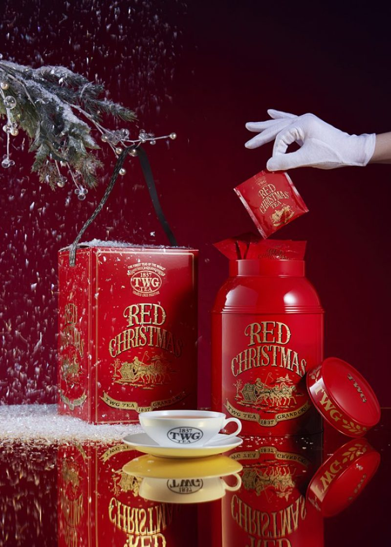 TWG Tea Red christmas collection Holiday Winter Christmas 2016
