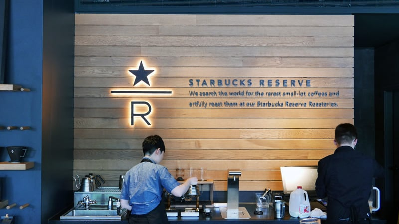 STARBUCKS Reserve Coffee Bar MAIN STREET Mount Pleasant Nomss.com Delicious Food Photography Healthy Travel Lifestyle
