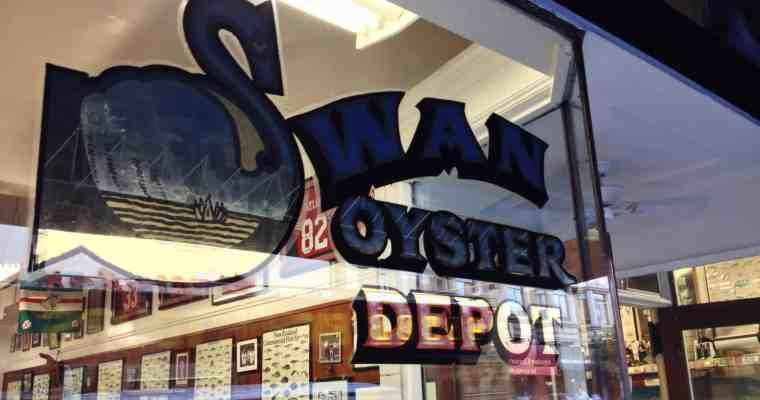 Swan Oyster Depot San Francisco (Nob Hill) | Salmon Sashimi x Clam Chowder