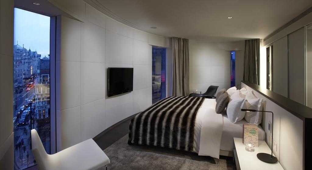 hotel 5 estrelas em londres