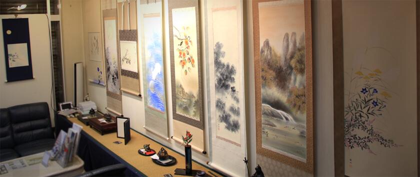 art nomura kakejiku gallery September 2017