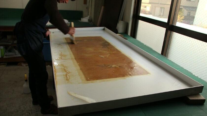 stains removal remove kakejiku hanging scroll