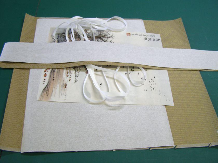 中国製掛軸 表装 仕立替