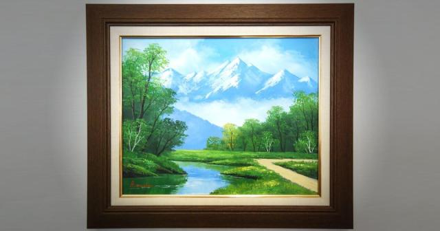 神戸 絵画 油絵 ギャラリー