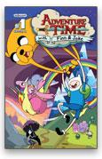 Adventure Time - 2013_Eisner_Nominee