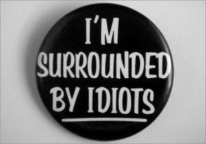 idiots pin