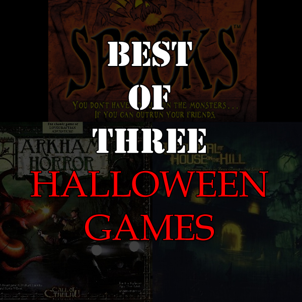 Best of Three - Halloween Games