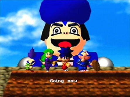 Mystical Ninja starring Goemon screengrab
