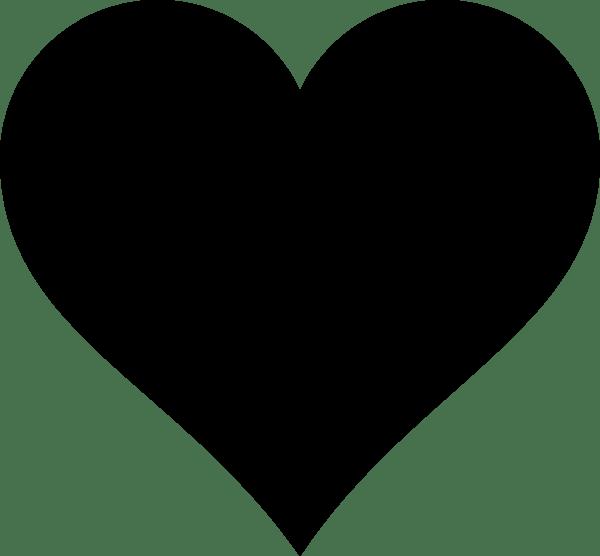 a black heart