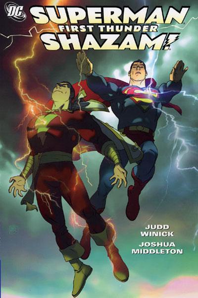 Shazam Superman - First Thunder