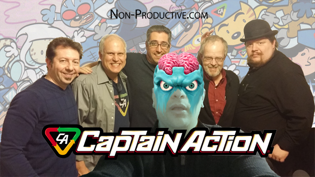 NonPro and Captain Action