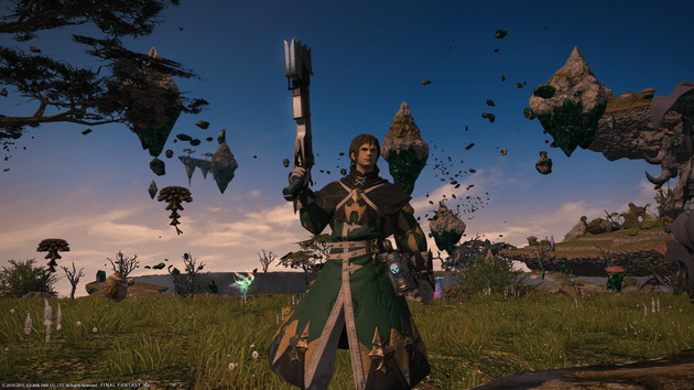 An example of level 50 Machinist gear.