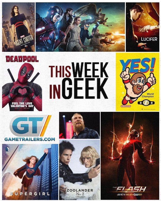 This Week in Geek -- 2-10-2016