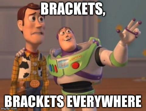 Toy Story meme - Brackets