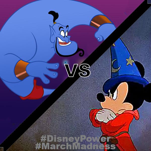 Mickey vs Genie