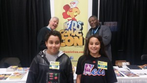 Comic Con Kids with Kids Comic Con! That's a tongue twister.