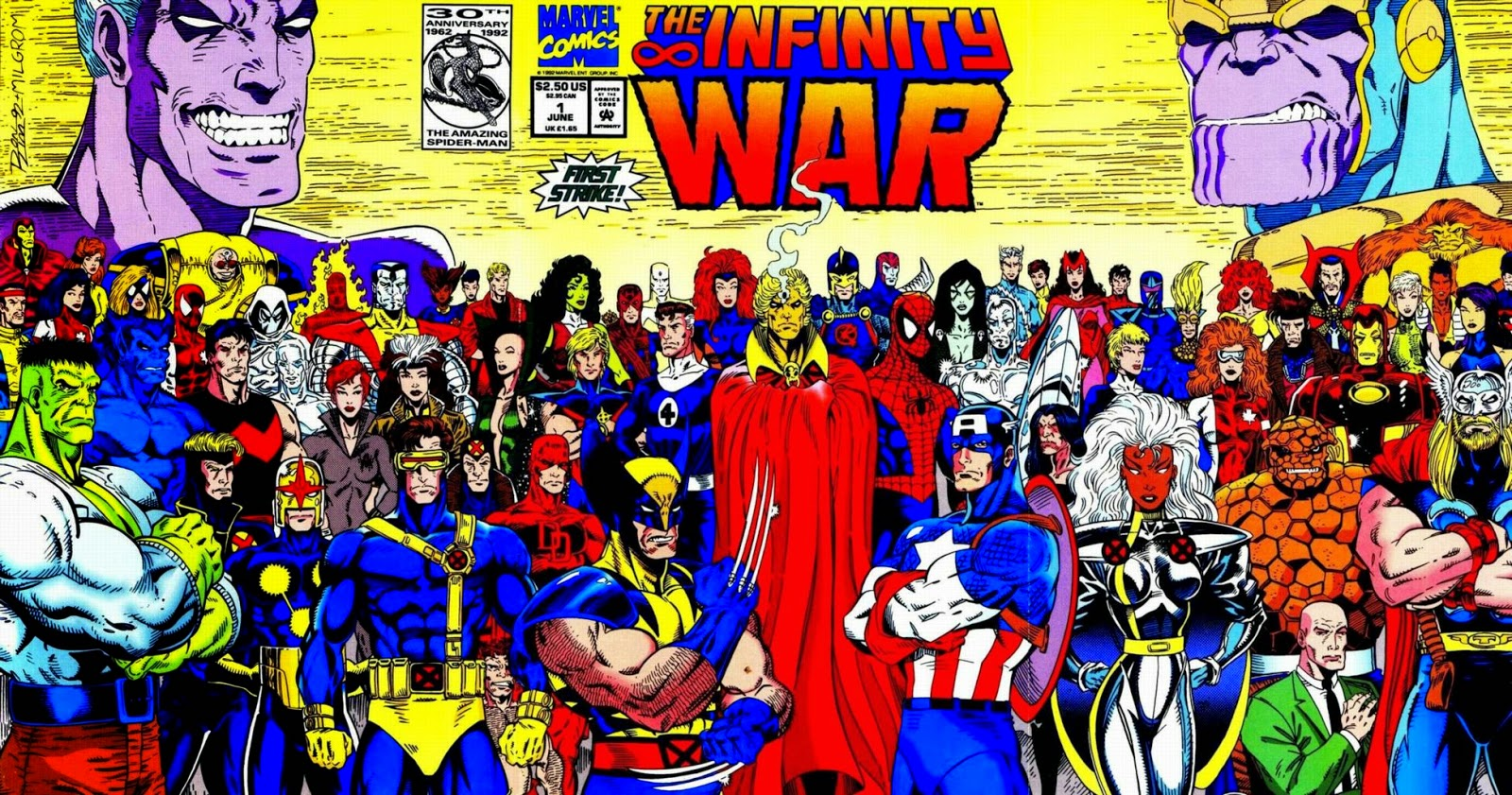 Near Mint – The Infinity War