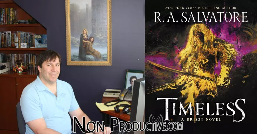 Writer R A  Salvatore Discusses
