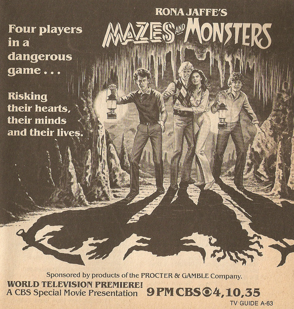 Mazes and Monsters is a far out game…