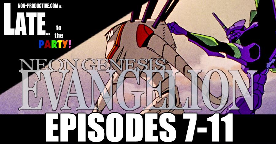 Neon Genesis Evangelion ReWatch – Episodes 7-11!