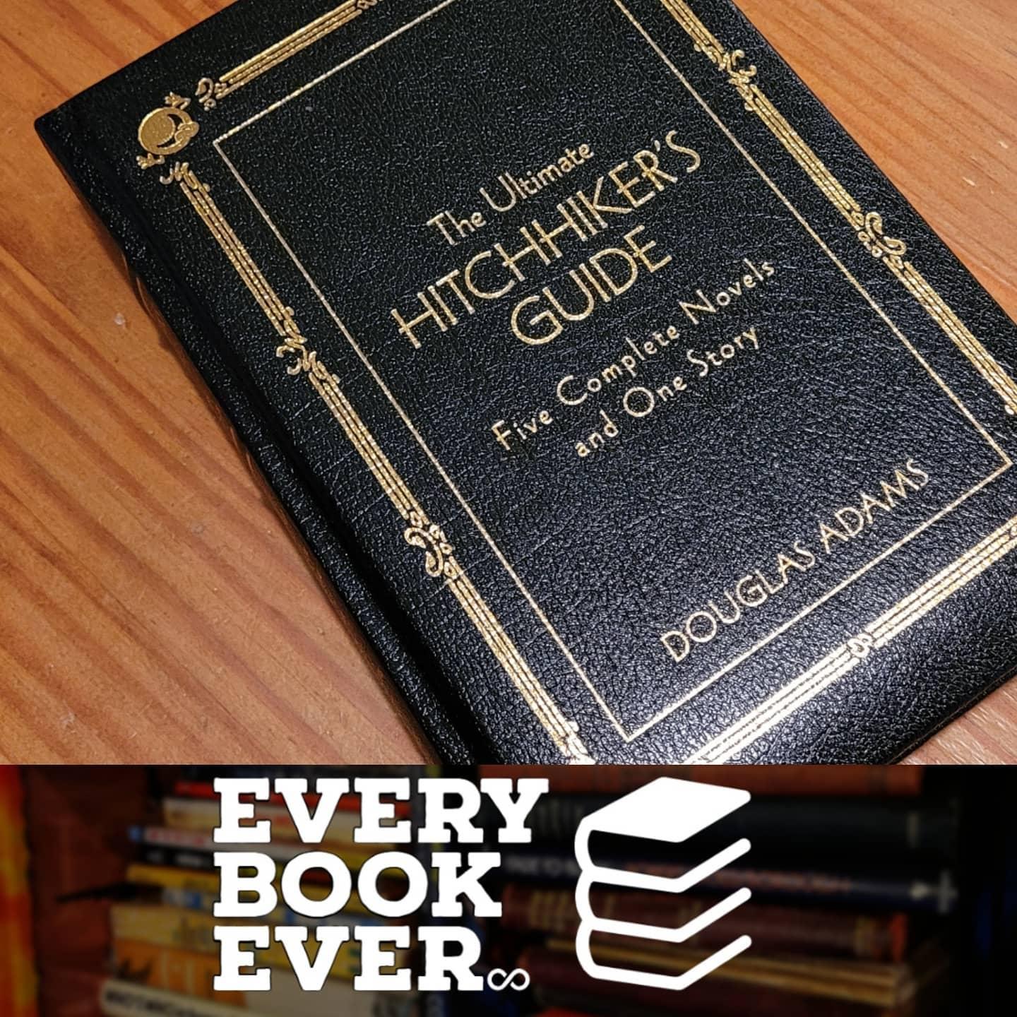 The Ultimate Hitchhiker's Guide to the Galaxy #EveryBookEver.