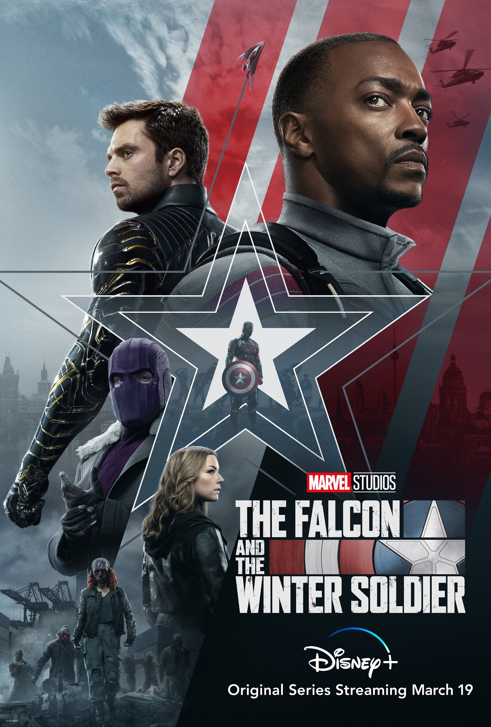 NonPro Show Falcon and The Winter Soldier