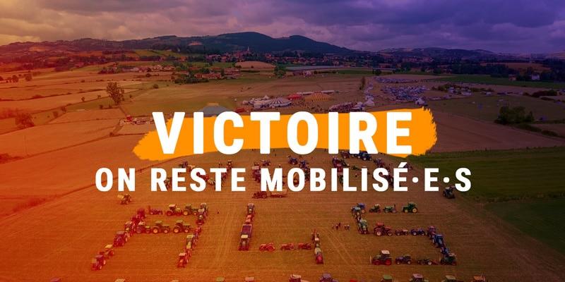 Victoire A45 on reste mobilisé