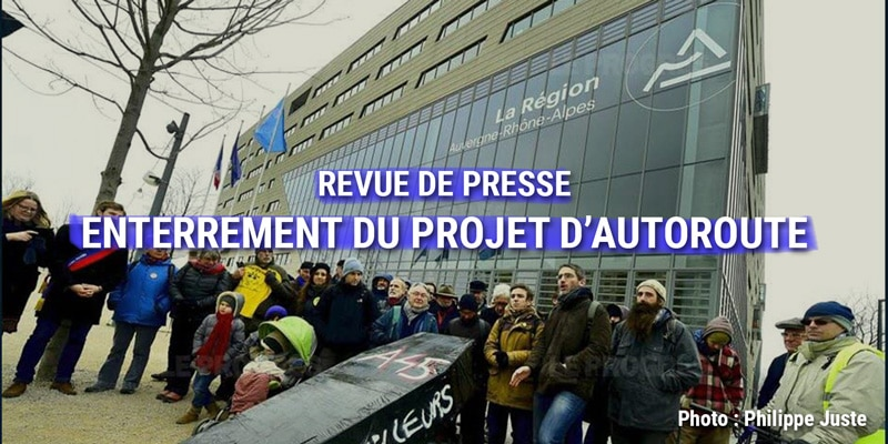 Revue de presse : Enterrement du projet d'Autoroute A45 à Lyon