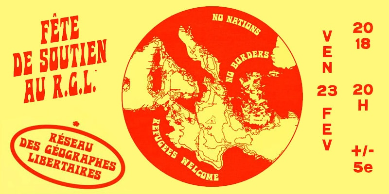 Fête de Soutien au RGL - Grrnd Zero