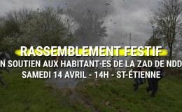Soutenons la ZAD de NDDL : samedi 14h à Verney Carron (St Etienne)